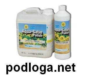 Berger-Seidle Aqua Satin Polish 1l